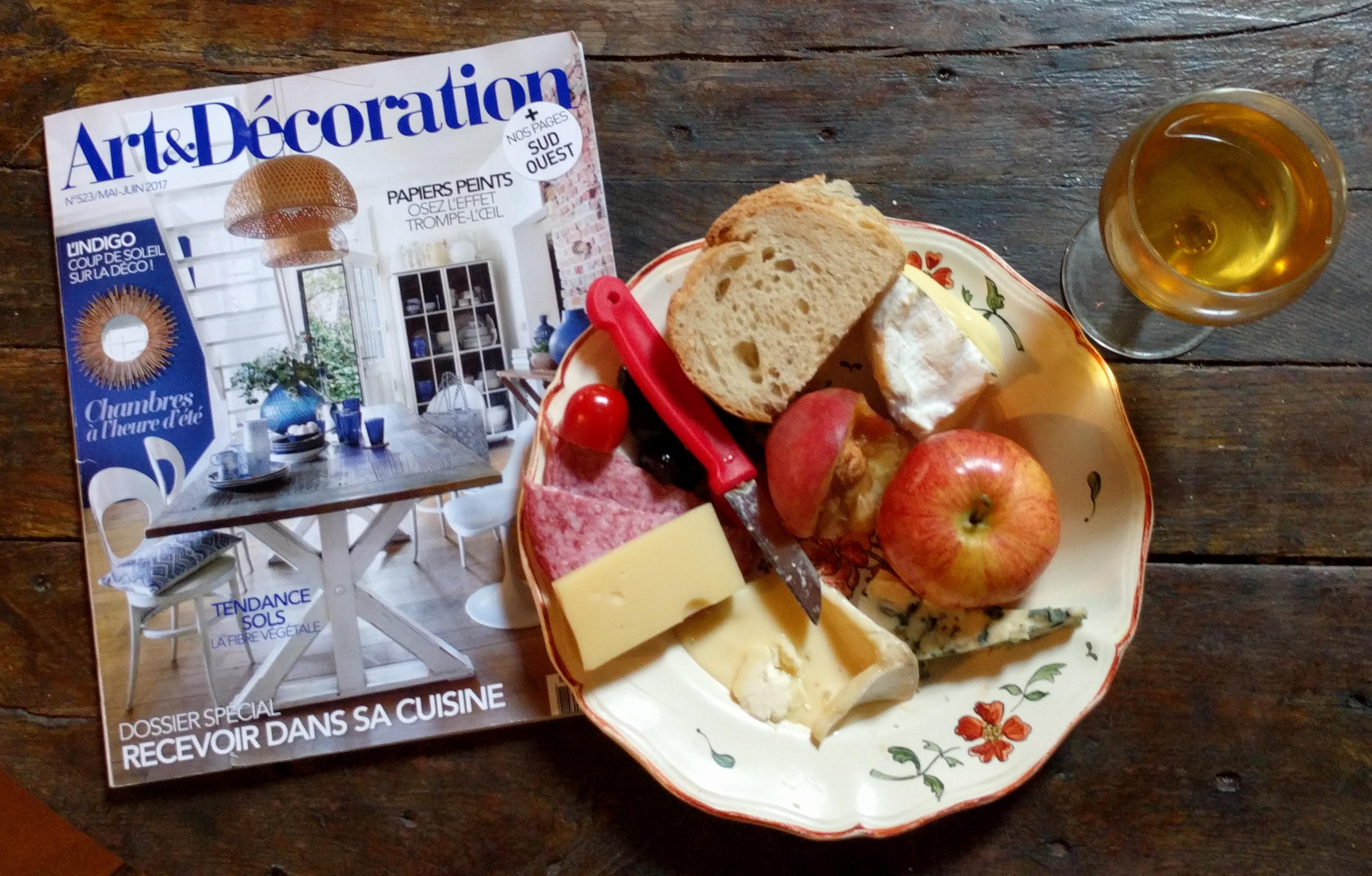 Art Et Decoration Juin 2017 soar-dream-france: face, feet and finds